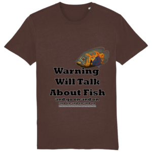 Will Talk About Fish T-Shirt Creator Vintage