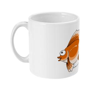 11oz Mug Cheeky Goldfish