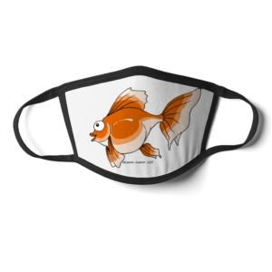 Cheeky Goldfish Face MAsk