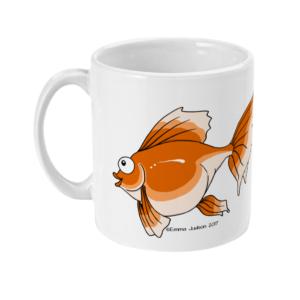 Cheeky Goldfish Mug